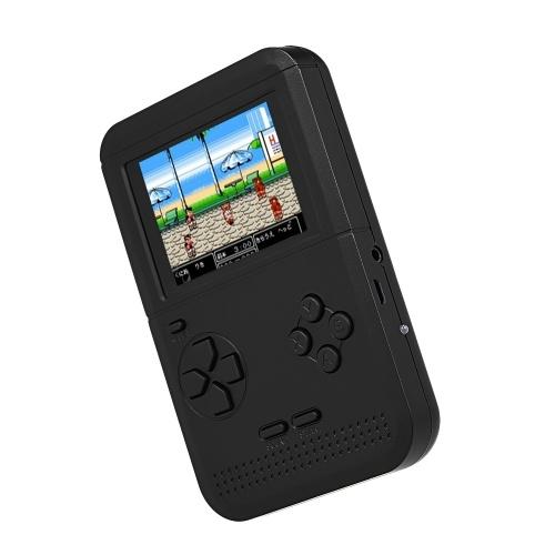 Q1ハンドヘルドゲームコンソールゲーム機デュアルバッテリ電源内蔵300クラシックゲームAVアウト2.6インチ画面表示