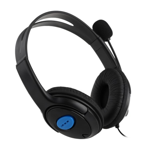 Wired Gaming Headset Bilateral Headphone with Microphone for PS4 PlayStation 4 PCVideo &amp; Audio<br>Wired Gaming Headset Bilateral Headphone with Microphone for PS4 PlayStation 4 PC<br>