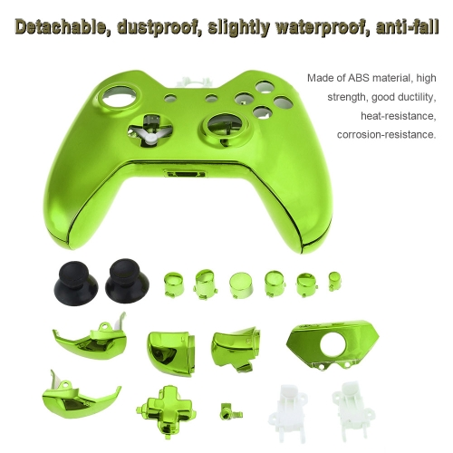 Gamepad Shell Dual Shock Controller Shell Cover Case with Buttons Green for XBOX ONEToys &amp; Hobbies<br>Gamepad Shell Dual Shock Controller Shell Cover Case with Buttons Green for XBOX ONE<br>