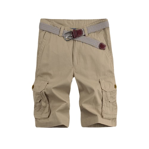 Casual Solid Multi-Pocket Military Army Style Cargo Bermudas Shorts for MenApparel &amp; Jewelry<br>Casual Solid Multi-Pocket Military Army Style Cargo Bermudas Shorts for Men<br>
