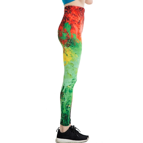 Women Slim Leggings Fire 3D Graffiti Letter Print Leggings Ankle-Length Elastic Leisure Pencil PantsApparel &amp; Jewelry<br>Women Slim Leggings Fire 3D Graffiti Letter Print Leggings Ankle-Length Elastic Leisure Pencil Pants<br>