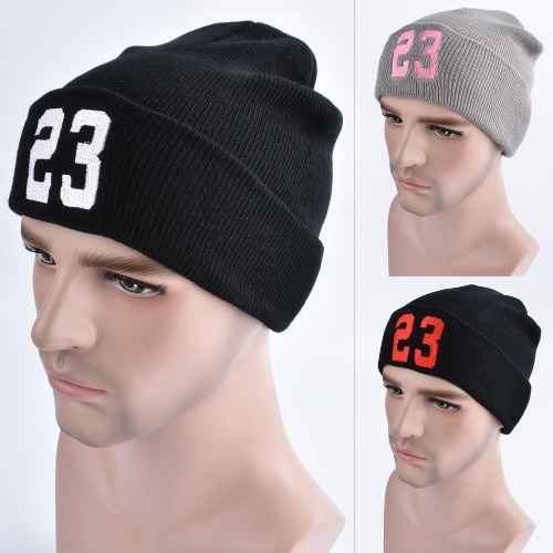 Men Women Knitted Beanies Hat Embroidered Number Dome Autumn Winter Cap Warm Skull Hat HeadwearApparel &amp; Jewelry<br>Men Women Knitted Beanies Hat Embroidered Number Dome Autumn Winter Cap Warm Skull Hat Headwear<br>