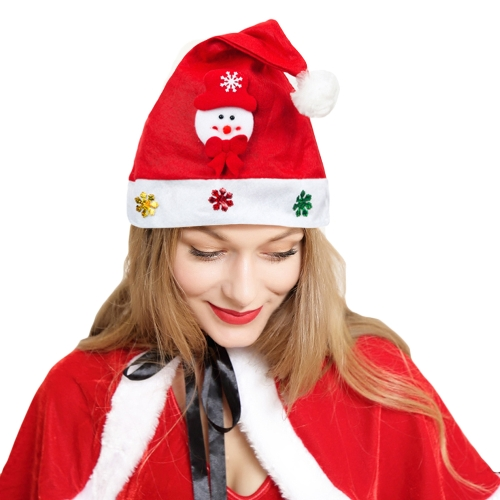 Kid Adult Cheer Christmas Hat Children Santa Claus Reindeer Snowman Cute Cap Party Festival DecorationApparel &amp; Jewelry<br>Kid Adult Cheer Christmas Hat Children Santa Claus Reindeer Snowman Cute Cap Party Festival Decoration<br>