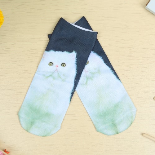 Cute Colorful Cartoon 3D Print Low Cut Ankle Casual Socks for UnisexApparel &amp; Jewelry<br>Cute Colorful Cartoon 3D Print Low Cut Ankle Casual Socks for Unisex<br>