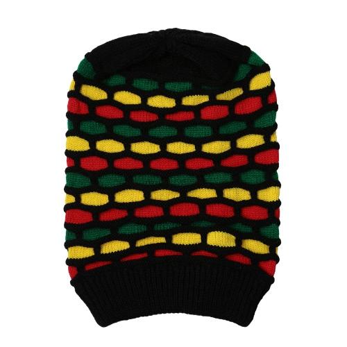 New Women Men Knitted Beanie Hat Contrast Stripe Splice Ribbed Brim Warm Dance Cap HeadwearApparel &amp; Jewelry<br>New Women Men Knitted Beanie Hat Contrast Stripe Splice Ribbed Brim Warm Dance Cap Headwear<br>