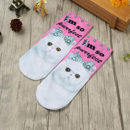 New Fashion Women Socks Cute Cartoon Print Low Cut Ankle Breathable Stretchy Casual SocksApparel &amp; Jewelry<br>New Fashion Women Socks Cute Cartoon Print Low Cut Ankle Breathable Stretchy Casual Socks<br>