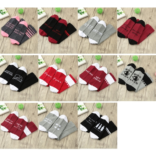 Men Women Unisex Socks Color Block Letter Pattern Breathable Stretchy Casual Warm Winter Long SocksApparel &amp; Jewelry<br>Men Women Unisex Socks Color Block Letter Pattern Breathable Stretchy Casual Warm Winter Long Socks<br>