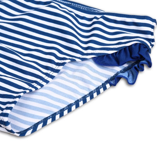 Summer Kid Girls Beach Striped Swimsuit Sunshine Backless High Elastic Children Two Piece Set Swimwear Blue/GreenApparel &amp; Jewelry<br>Summer Kid Girls Beach Striped Swimsuit Sunshine Backless High Elastic Children Two Piece Set Swimwear Blue/Green<br>