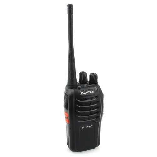 BaoFeng BF-666S 5W 16-канальный 400-470MHz Handheld Walkie Talkie / Interphone Black