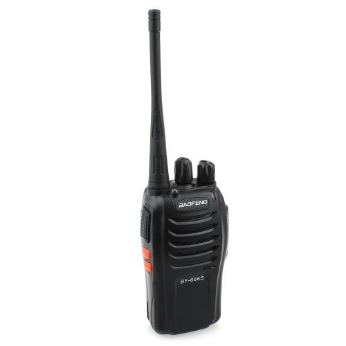 باو فنغ BF-666S 5W 16 قناة 400-470 ميجاهرتز يده تخاطب / إنتر فون أسود