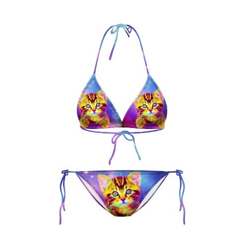 Sexy Starry Night Galaxy Print Halterneck Two Piece Swimwear Swimsuits BikiniApparel &amp; Jewelry<br>Sexy Starry Night Galaxy Print Halterneck Two Piece Swimwear Swimsuits Bikini<br>