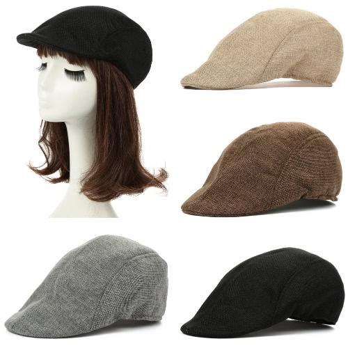 Vintage Unisex Women Men Peaked Hat Casquette Breathable Beret Newsboy Cap Cabbie HeadwearApparel &amp; Jewelry<br>Vintage Unisex Women Men Peaked Hat Casquette Breathable Beret Newsboy Cap Cabbie Headwear<br>