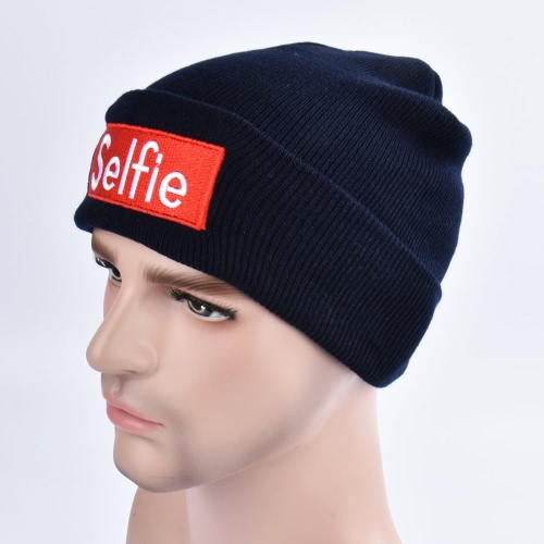 Fashion Men Women Selfie Embroidery Beanie Knit Hat Winter Warm Cap Unisex Hippop Slouchy Skull HatApparel &amp; Jewelry<br>Fashion Men Women Selfie Embroidery Beanie Knit Hat Winter Warm Cap Unisex Hippop Slouchy Skull Hat<br>