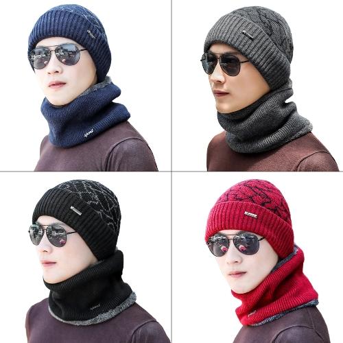 Men Knitted Gaiter Autumn Winter Ring Scarf Neck Collar Loop Fur Ribbed Warm HeadwearApparel &amp; Jewelry<br>Men Knitted Gaiter Autumn Winter Ring Scarf Neck Collar Loop Fur Ribbed Warm Headwear<br>