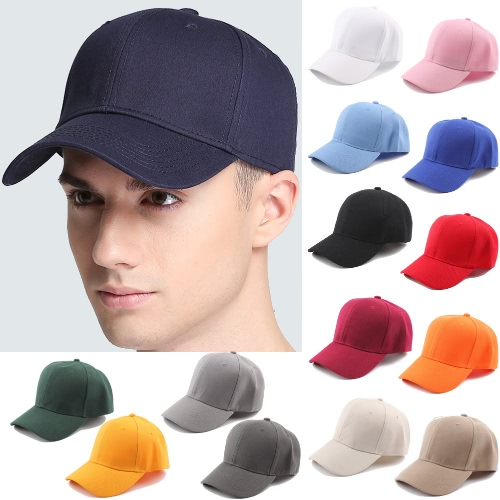 Unisex Women Men Baseball Cap Solid Color Hip Hop Casual Sport Sun Casquette Headwear HatsApparel &amp; Jewelry<br>Unisex Women Men Baseball Cap Solid Color Hip Hop Casual Sport Sun Casquette Headwear Hats<br>