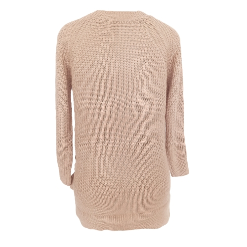 New Sexy Winter Women Lace Up Knit Sweater O Neck Long Sleeve Split Knitted Pullover Jumper KnitwearApparel &amp; Jewelry<br>New Sexy Winter Women Lace Up Knit Sweater O Neck Long Sleeve Split Knitted Pullover Jumper Knitwear<br>