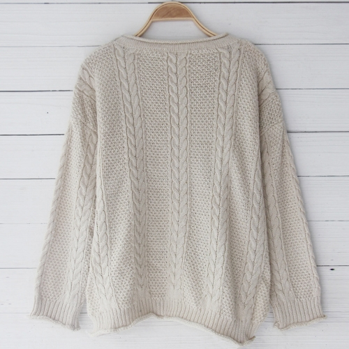 New Women Loose Knitted Sweater O-Neck Long Sleeve Solid Warm Pullovers Top KnitwearApparel &amp; Jewelry<br>New Women Loose Knitted Sweater O-Neck Long Sleeve Solid Warm Pullovers Top Knitwear<br>