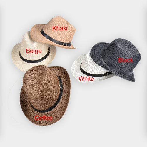 New Summer Men Straw Hat Wide-Brim Foldable Beach Holiday Beach Casual Floppy Cap SunhatsApparel &amp; Jewelry<br>New Summer Men Straw Hat Wide-Brim Foldable Beach Holiday Beach Casual Floppy Cap Sunhats<br>