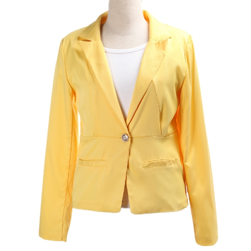 2012 Stylish Women Blazer Jacket Coat Tunic Casual Suit Foldable SleeveApparel &amp; Jewelry<br>2012 Stylish Women Blazer Jacket Coat Tunic Casual Suit Foldable Sleeve<br>
