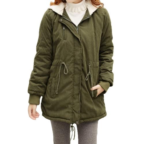Winter Fashion Womens Fleece Parka Warm Coat Hoodie Overcoat Long JacketApparel &amp; Jewelry<br>Winter Fashion Womens Fleece Parka Warm Coat Hoodie Overcoat Long Jacket<br>