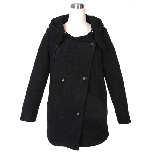 Womens Winter Wool Hooded Trench Coat Jacket OuterwearApparel &amp; Jewelry<br>Womens Winter Wool Hooded Trench Coat Jacket Outerwear<br>