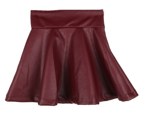Women Lady Girl Leather Flared Sexy Short Mini Pleated Skirt RedApparel &amp; Jewelry<br>Women Lady Girl Leather Flared Sexy Short Mini Pleated Skirt Red<br>