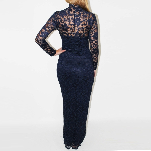 Lace Women Maxi Dress Long SleeveApparel &amp; Jewelry<br>Lace Women Maxi Dress Long Sleeve<br>