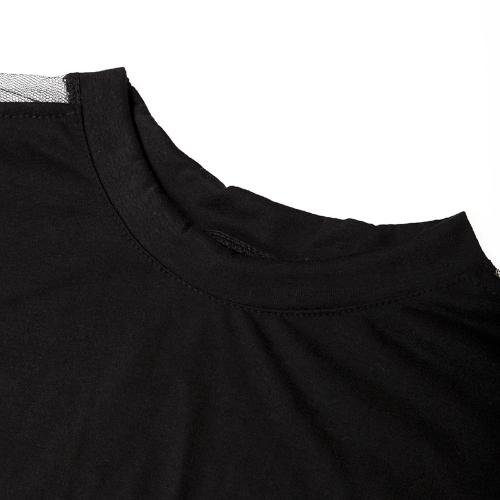 Womens Blouse T-shirt Cotton Batwing Lace SleeveApparel &amp; Jewelry<br>Womens Blouse T-shirt Cotton Batwing Lace Sleeve<br>