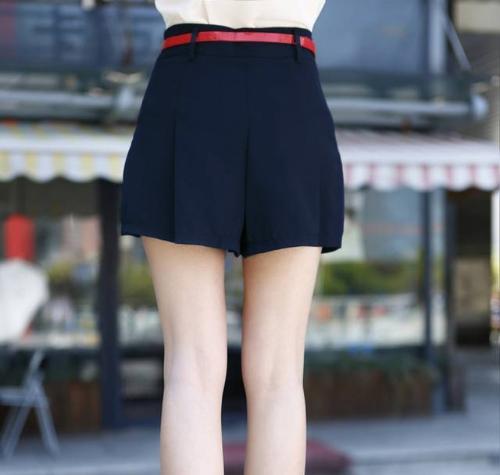 New Fashion Women Chiffon Shorts Pleated Layer Mini Culottes Short Pants Dark BlueApparel &amp; Jewelry<br>New Fashion Women Chiffon Shorts Pleated Layer Mini Culottes Short Pants Dark Blue<br>
