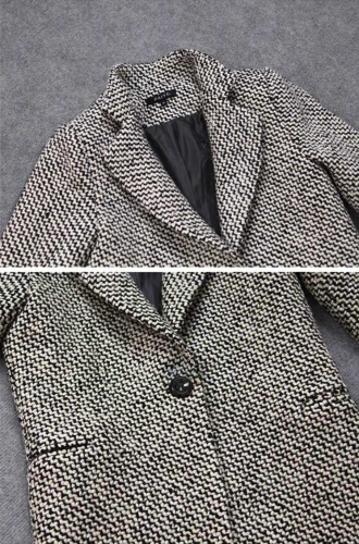 New Fashion Women Trench Coat Notched Collar One Button Medium Long Outerwear Warm Coat Jacket BlackApparel &amp; Jewelry<br>New Fashion Women Trench Coat Notched Collar One Button Medium Long Outerwear Warm Coat Jacket Black<br>