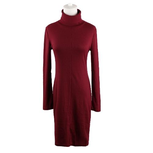 Stylish Long Sleeve Split Slim Bodycon Sweater Dress for WomenApparel &amp; Jewelry<br>Stylish Long Sleeve Split Slim Bodycon Sweater Dress for Women<br>