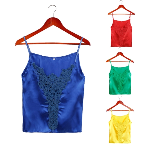New Fashion Women Camisole Top Crochet Lace Adjustable Spagetti Strap Sexy Tank Top BlouseApparel &amp; Jewelry<br>New Fashion Women Camisole Top Crochet Lace Adjustable Spagetti Strap Sexy Tank Top Blouse<br>