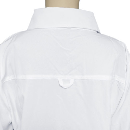 Fashion Women Shirt Turn-down Collar Long Sleeve Asymmetric Hem Loose Long Blouse Top WhiteApparel &amp; Jewelry<br>Fashion Women Shirt Turn-down Collar Long Sleeve Asymmetric Hem Loose Long Blouse Top White<br>