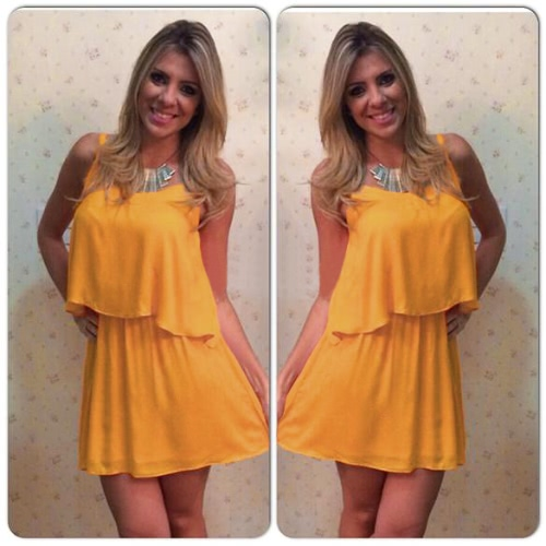 Sexy Summer Women Two Pieces Chiffon Dress Spaghetti Straps Tank Top Pleated Mini Skirt YellowApparel &amp; Jewelry<br>Sexy Summer Women Two Pieces Chiffon Dress Spaghetti Straps Tank Top Pleated Mini Skirt Yellow<br>