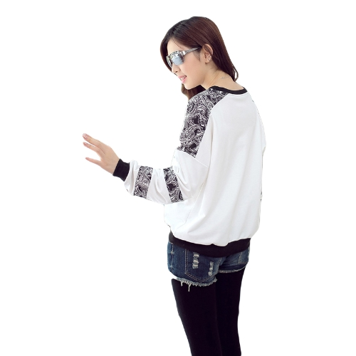 New Fashion Wemen T-shirt Birds Tree Print O-Neck Long Sleeve Loose Fit Casual Tops WhiteApparel &amp; Jewelry<br>New Fashion Wemen T-shirt Birds Tree Print O-Neck Long Sleeve Loose Fit Casual Tops White<br>