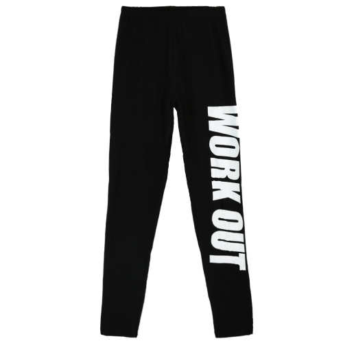 Sexy Women Slim Leggings Letter Print Elastic Waist Sport Yoga Casual Fitness Skinny Pencil Pants TrousersApparel &amp; Jewelry<br>Sexy Women Slim Leggings Letter Print Elastic Waist Sport Yoga Casual Fitness Skinny Pencil Pants Trousers<br>