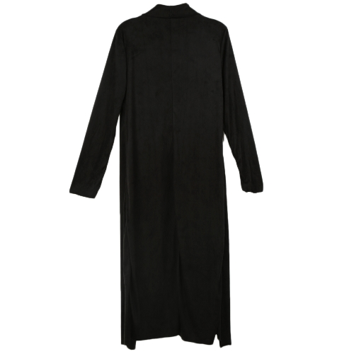 Fashion Women Outerwear Drape Waterfall Open Front Long Length Cardigan Coat