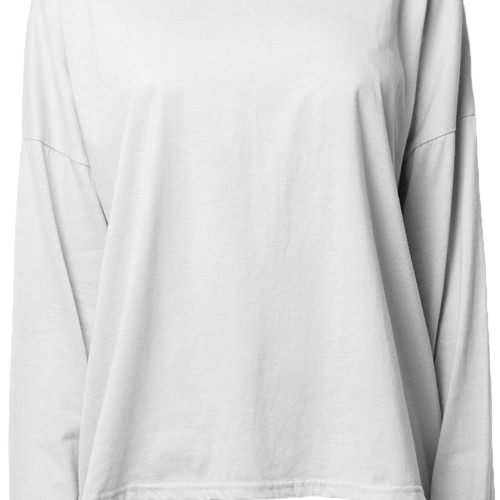 Fashion Women Casual T-Shirt Hollow Out Back Long Sleeve Pullover Black/Grey/PinkApparel &amp; Jewelry<br>Fashion Women Casual T-Shirt Hollow Out Back Long Sleeve Pullover Black/Grey/Pink<br>