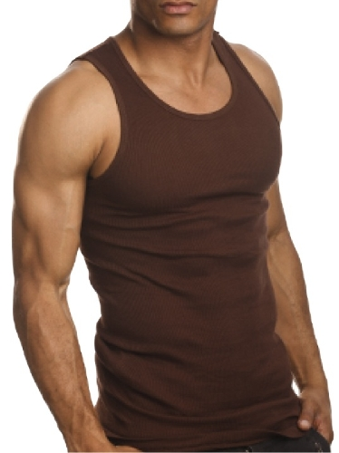 Fashion Casual Mens Tank Top Cotton A-Shirt Sleeveless Round Neck Vest T Shirt BrownApparel &amp; Jewelry<br>Fashion Casual Mens Tank Top Cotton A-Shirt Sleeveless Round Neck Vest T Shirt Brown<br>