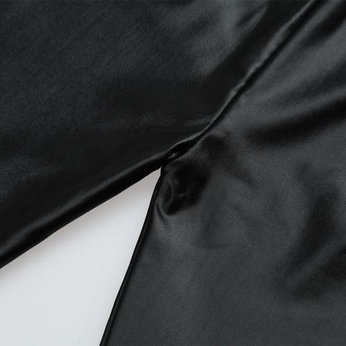 New Kids Girls Stretchy Leggings Faux PU Leather Elastic Waist Skinny Pants Trousers BlackApparel &amp; Jewelry<br>New Kids Girls Stretchy Leggings Faux PU Leather Elastic Waist Skinny Pants Trousers Black<br>