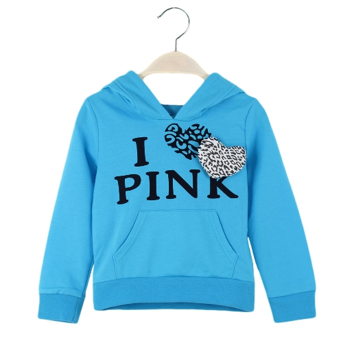 Cute Baby Girls Suit Letter Print Leopard Splicing Heart-shaped Decoration Hoodie Culottes Sets BlueApparel &amp; Jewelry<br>Cute Baby Girls Suit Letter Print Leopard Splicing Heart-shaped Decoration Hoodie Culottes Sets Blue<br>
