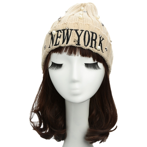 New Unisex Women Men Beanie Hat Letter Embroidery Pearl Star Solid Warm Hip-Hop Cool Knitted Cap HeadwearApparel &amp; Jewelry<br>New Unisex Women Men Beanie Hat Letter Embroidery Pearl Star Solid Warm Hip-Hop Cool Knitted Cap Headwear<br>