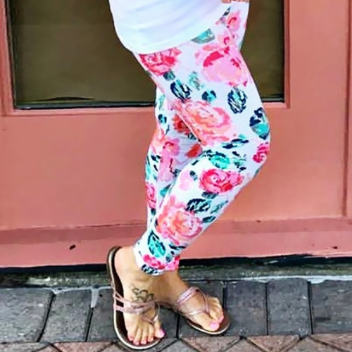 New Fashion Mommy Floral Print Leggings Stretch Yoga Running Sport Pants Trousers WhiteApparel &amp; Jewelry<br>New Fashion Mommy Floral Print Leggings Stretch Yoga Running Sport Pants Trousers White<br>