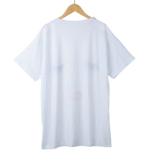 New Fashion Women T-Shirt Print O-Neck Short Sleeve Plus Size Loose Tee Casual T-Shirt WhiteApparel &amp; Jewelry<br>New Fashion Women T-Shirt Print O-Neck Short Sleeve Plus Size Loose Tee Casual T-Shirt White<br>