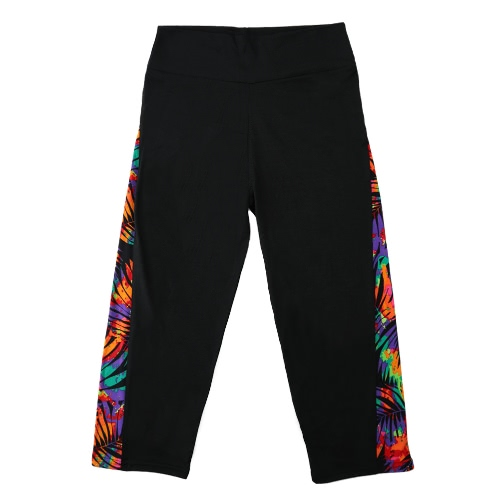Women Sports Leggings Tights Yoga Pants Print Sportswear High Waist Elastic Workout Cropped TrousersApparel &amp; Jewelry<br>Women Sports Leggings Tights Yoga Pants Print Sportswear High Waist Elastic Workout Cropped Trousers<br>