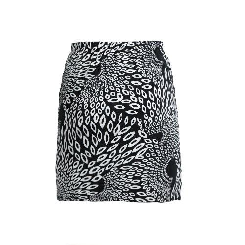 New Fashion Women Skirt Floral Geometric Pattern Print Color Block High Elastic Waist Casual Mini SkirtApparel &amp; Jewelry<br>New Fashion Women Skirt Floral Geometric Pattern Print Color Block High Elastic Waist Casual Mini Skirt<br>