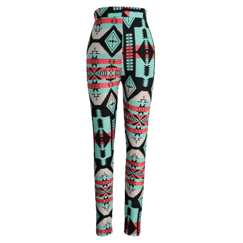 Fashion Women Leggings Contrast Color Print Fitness Sports Pants Stretchy Cropped Yoga TrousersApparel &amp; Jewelry<br>Fashion Women Leggings Contrast Color Print Fitness Sports Pants Stretchy Cropped Yoga Trousers<br>