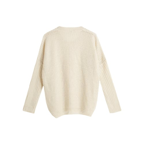 New Fashion Women Knit Sweater O Neck Long Sleeves Hollow Out Warm Pullover KnitwearApparel &amp; Jewelry<br>New Fashion Women Knit Sweater O Neck Long Sleeves Hollow Out Warm Pullover Knitwear<br>
