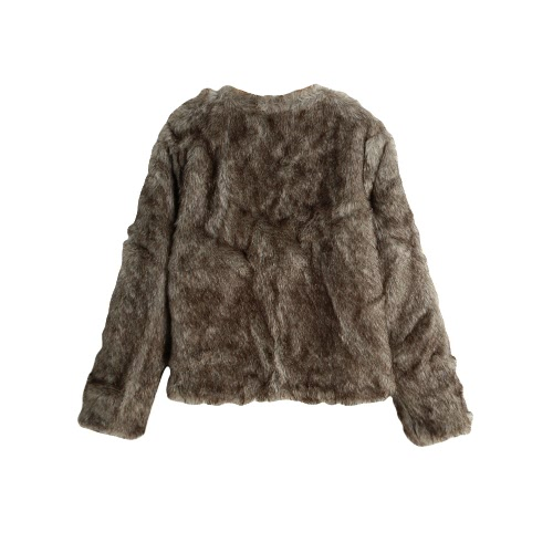 New Winter Women Faux Fur Coat Open Front Round Neck Long Sleeve Fluffy Warm Outerwear OvercoatApparel &amp; Jewelry<br>New Winter Women Faux Fur Coat Open Front Round Neck Long Sleeve Fluffy Warm Outerwear Overcoat<br>