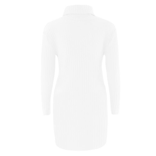 New Sexy Women Knit Dress Solid Turtleneck Long Sleeve Casual Party Mini Sweater DressApparel &amp; Jewelry<br>New Sexy Women Knit Dress Solid Turtleneck Long Sleeve Casual Party Mini Sweater Dress<br>